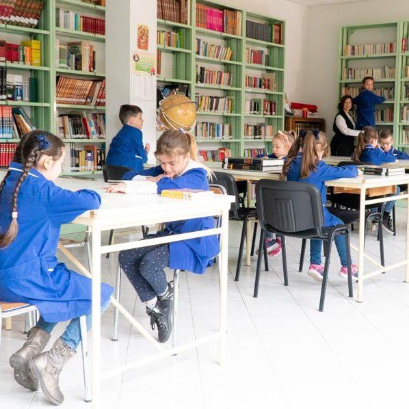 Scuola Patrocinio San Giuseppe-Biblioteca