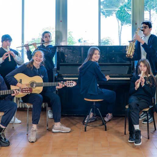 Scuola Patrocinio San Giuseppe-aula-musica