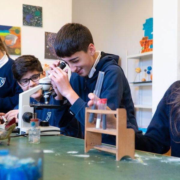 Scuola Patrocinio San Giuseppe-laboratorio scientifico